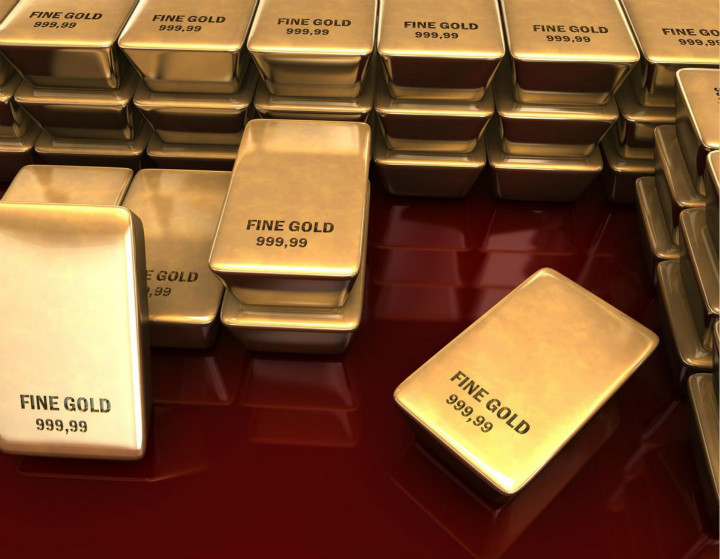 K线图在一定程度上决定了炒黄金的收益大小
